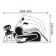 Plaina Profissional - GHO 15-82 - BOSCH - 600 Watts - 110 Volts