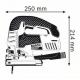 Serra Tico-Tico - BOSCH - GST 150 BCE - 780 watts - 220 Volts - 150 mm