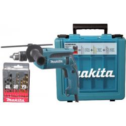 Furadeira de Impacto - Makita - HP1640KX1 - Punho Lateral - Kit de Brocas -  Maletas