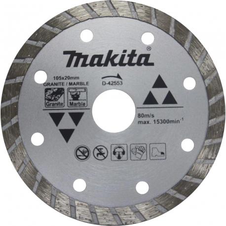 Disco para Serra Mármore - MAKITA - 105mm - D-42553