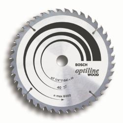 Disco de serra circular - Optiline Wood - 2608640853