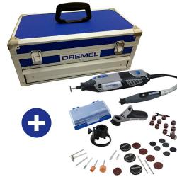 Micro Retífica Dremel 4000 com 36 Acessórios  +  Maleta Porta Ferramentas Dremel